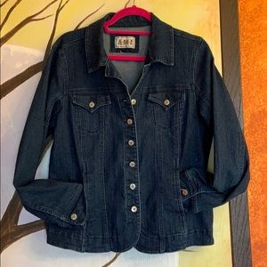 Fitted Jeans Jacket
